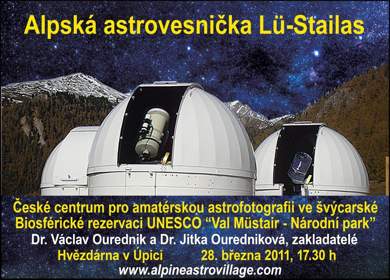 Plakát Alpine Astrovillage Lü-Stailas